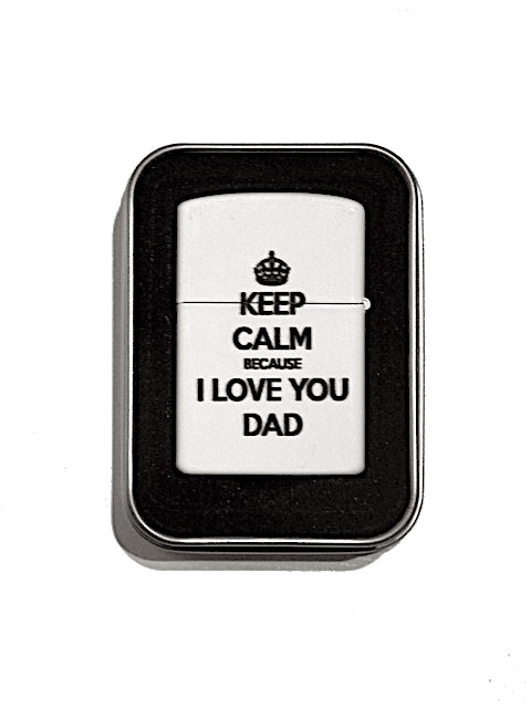 Bensintändare - Keep Calm, I love you dad