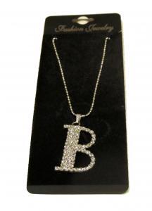 Bokstavshalsband - B