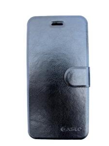 skal/fodral för Iphone 6 med kreditkortsfack - svart PU läder