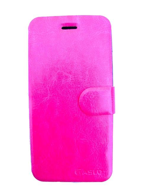 skal/fodral för Iphone 6 med kreditkortsfack - rosa PU läder