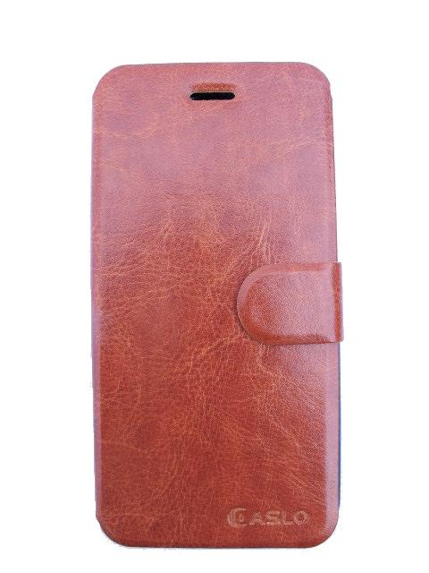 skal/fodral för Iphone 6 med kreditkortsfack - Brun PU läder
