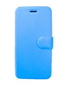skal/fodral för Iphone 6 med kreditkortsfack - Blå PU läder