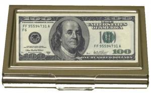 100 DOLLAR KORTHÅLLARE