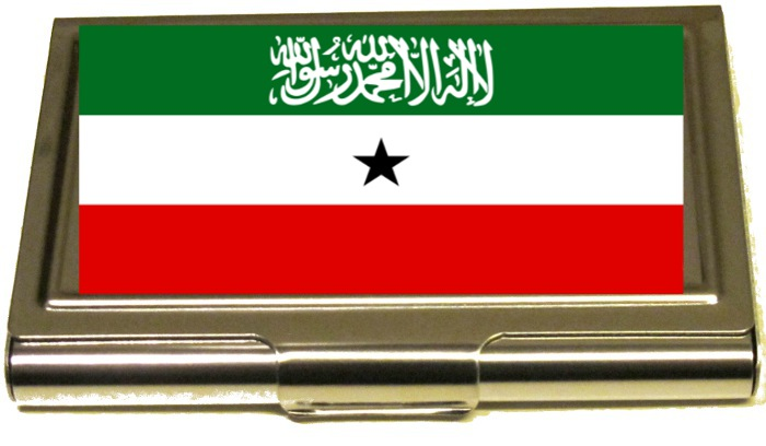 KORTHÅLLARE -  SOMALILAND FLAGA