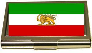 IRAN FLAGA - KORTHÅLLARE