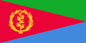 Eritreas flagga