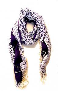 Halsduk - Leopard motiv