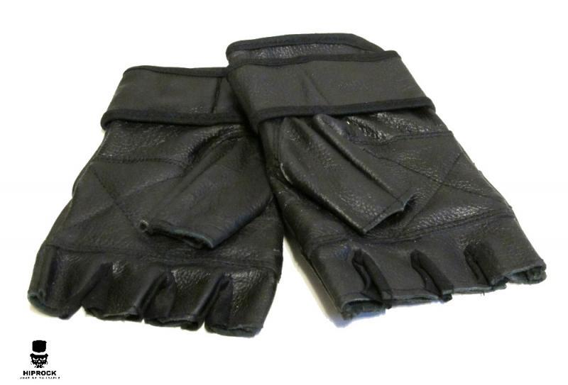 Läderhandskar - Black
