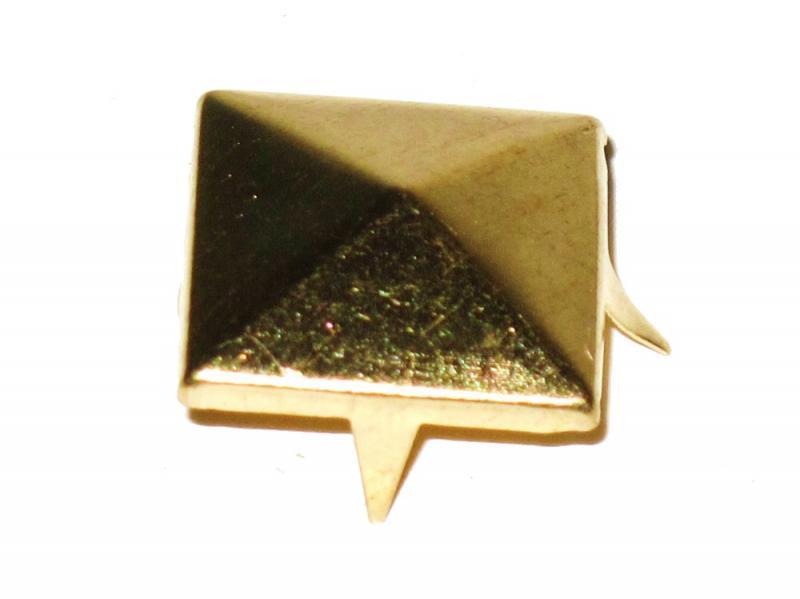 Lösa Nitar - Guld Pyramid