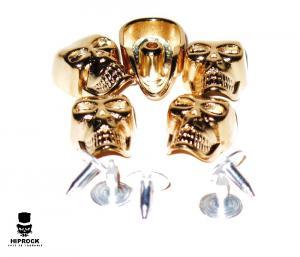 Lösa Nitar - Guld Döskalle