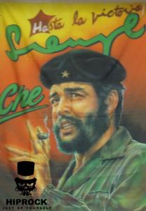Flagga - Che Guevara Smoking