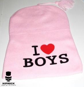 Mössa - I love boys