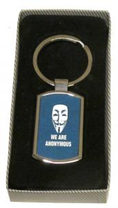 We are anonymous - Nyckelring