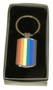 Prideflagga - Nyckelring