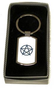 Pentagram - Nyckelring