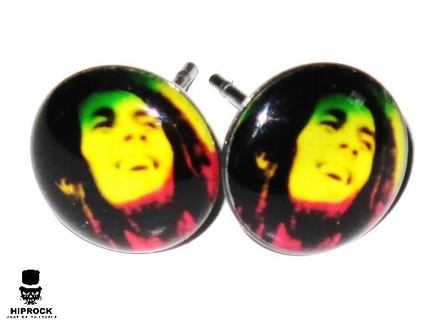 Knappörhängen - Bob Marley