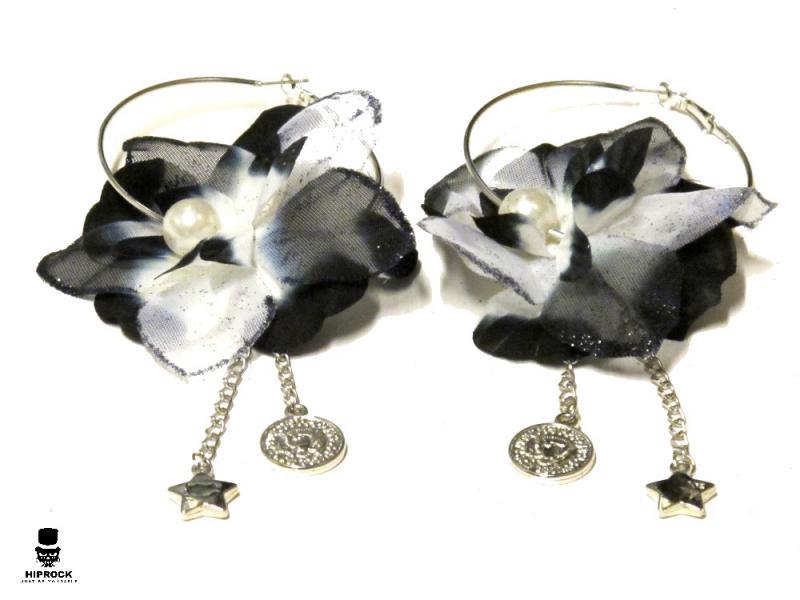 Örhänge-Silverfärg