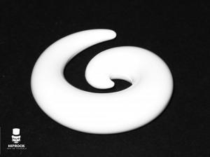Töjning - Vit Spiral