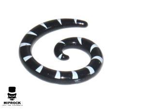 Töjning - Svart och Vit Spiral