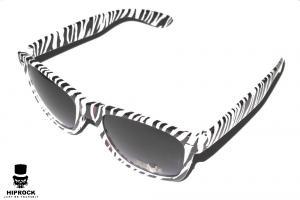 Wayfarer Solglasögon - Zebra