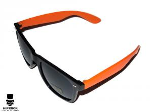 Wayfarer Solglasögon - Orange/Svart
