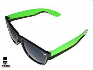 Wayfarer Solglasögon - Svart/Grön