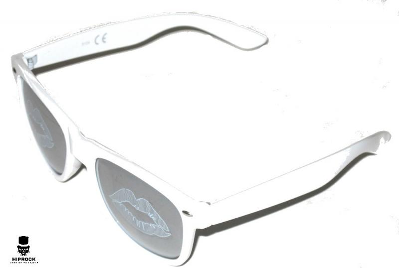 Wayfarer Solglasögon - White Lips