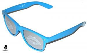 Wayfarer Solglasögon - Blue Lips