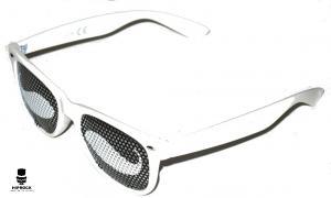 Wayfarer Solglasögon - White Mustache