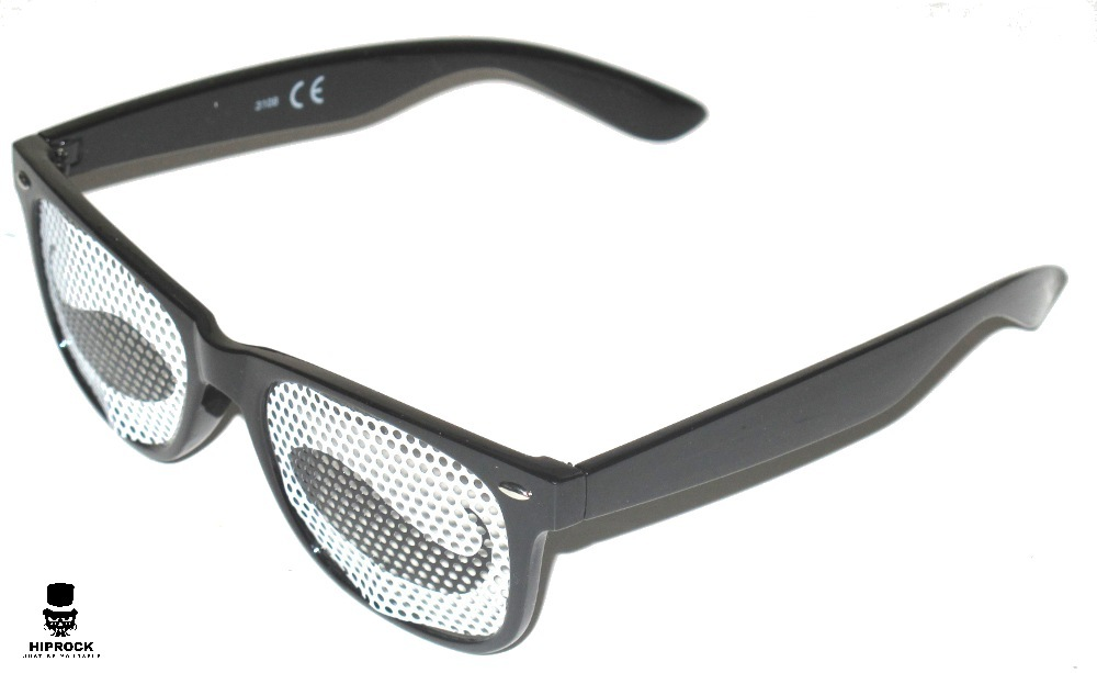 e0a5064e543 Wayfarer Sunglasses - Black Mustache
