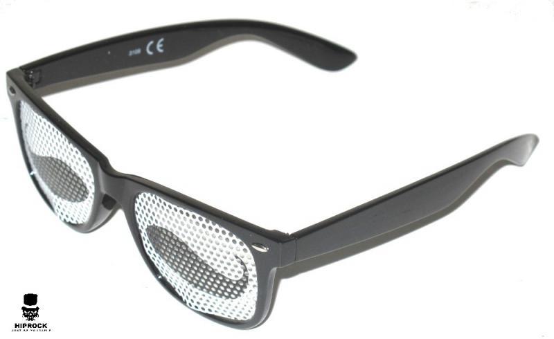 Wayfarer Solglasögon - Black Mustache