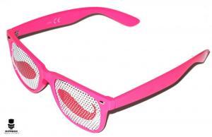 Wayfarer Solglasögon - Pink Mustache