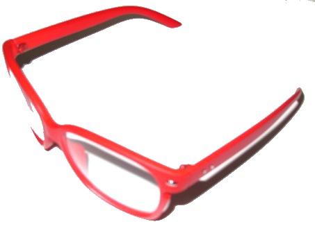 Solglasögon Clear - Röd
