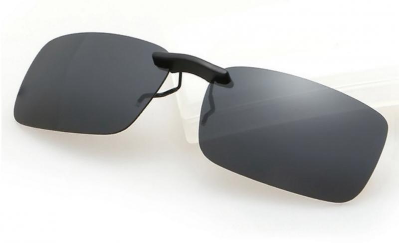 Clip-on solglasögon - Fäst på dina befintliga glasögon