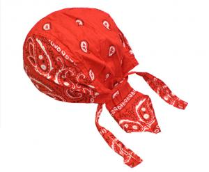 Röd Zandana Pirat Scarf