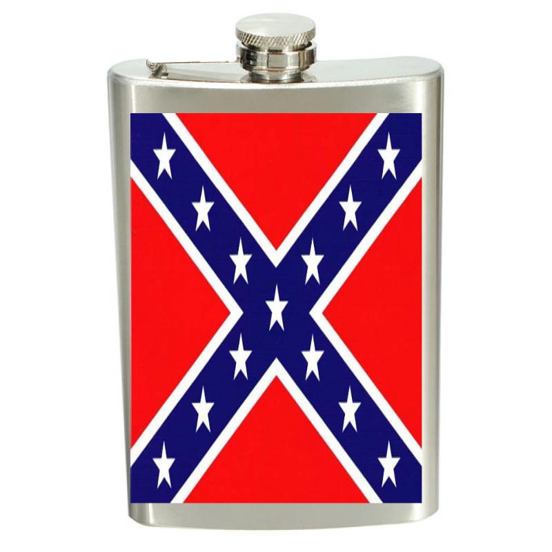 Plunta Sydstats flagga - rostfritt stål