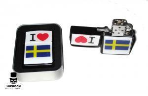 Bensintändare - I Love Sweden