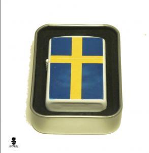 Bensintändare - Sverige Flagga