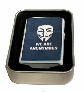 Bensintändare - We are anonymous