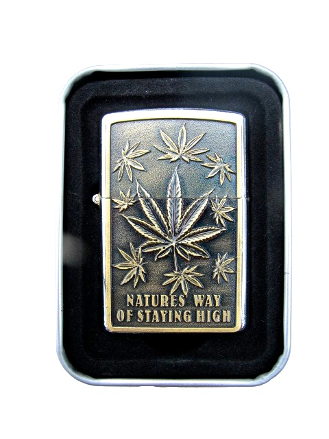 Marijuana - Guldfärgad tändare