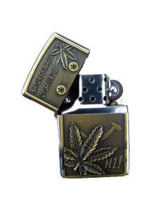 Weed - Guldfärgad tändare