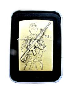 Soldat M16 - Guldfärgad bensintändare