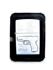 Pistol P99 - Silverfärgad bensintändare
