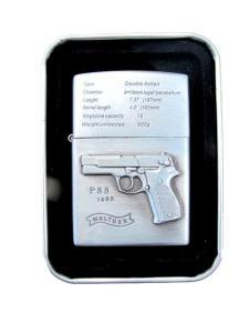 Pistol P88 - Silverfärgad bensintändare