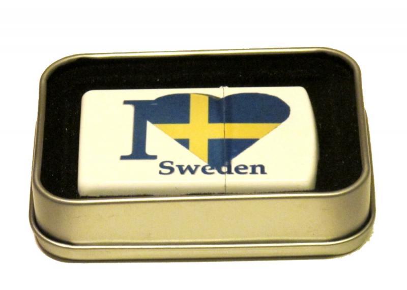 I LOVE SWEDEN - BENSINTÄNDARE