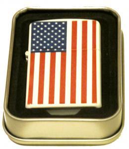 USA FLAGGA-BENSINTÄNDARE