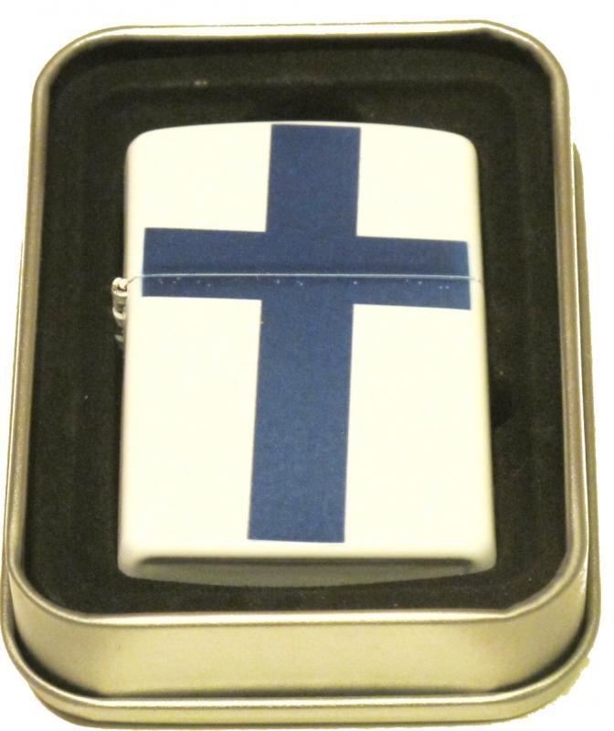 FINLAND FLAGGA-BENSINTÄNDARE