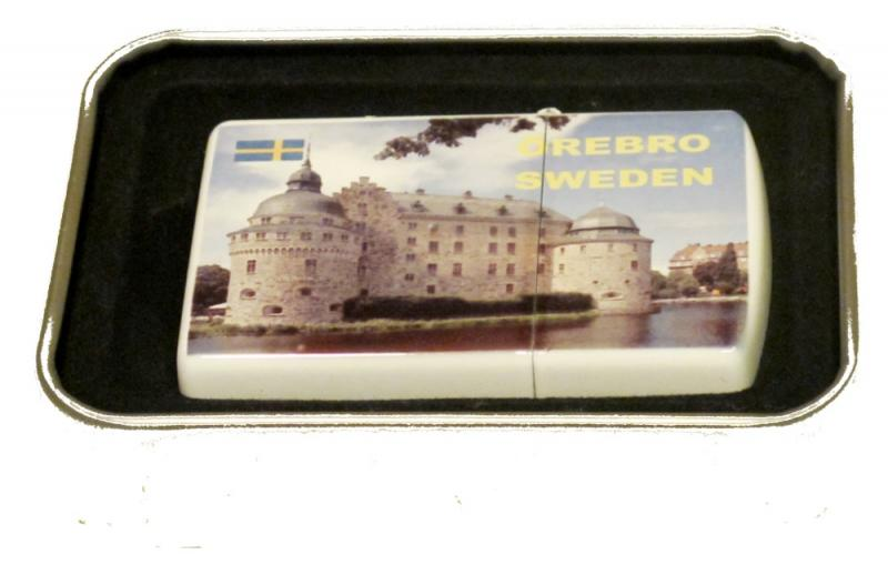 Örebro slott-BENSINTÄNDARE
