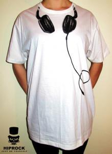 T-shirt - Headphones