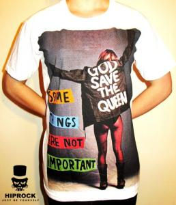 T-shirt - Save The Queen